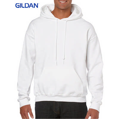 Gildan Heavy Blend Adult Hooded Sweatshirt White